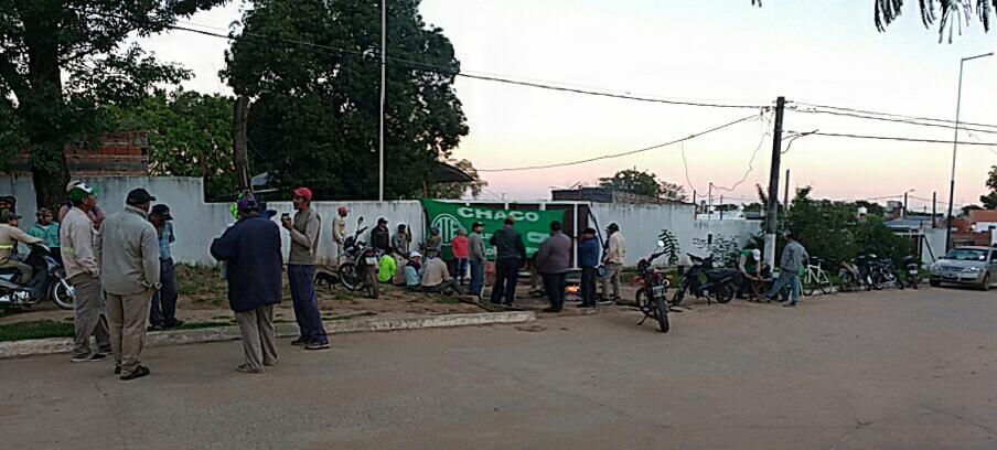 Las y los trabajadores municipales de Isla del Cerrito demandan aumento salarial (1)