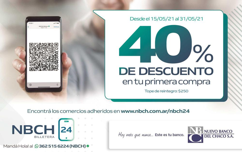QR banco del Chaco