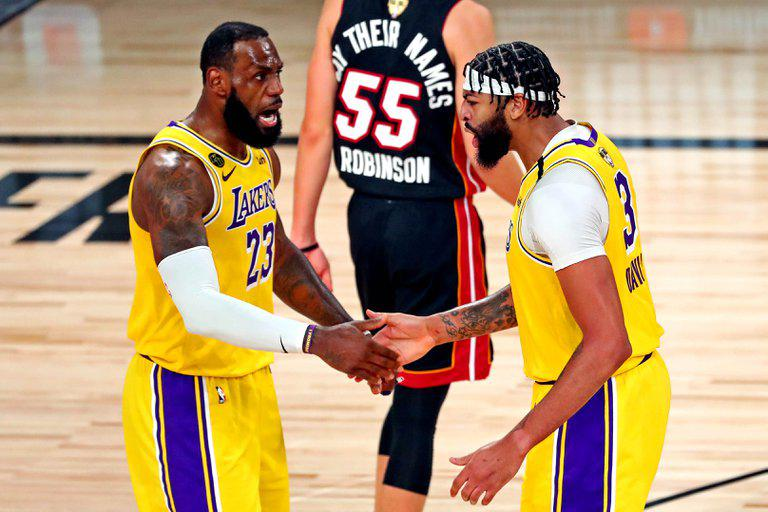 LAKERS PRIMER PARTIDO PLAYOFF 2020