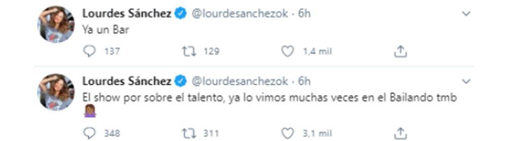 LOURDES SANCHEZ TWITTER