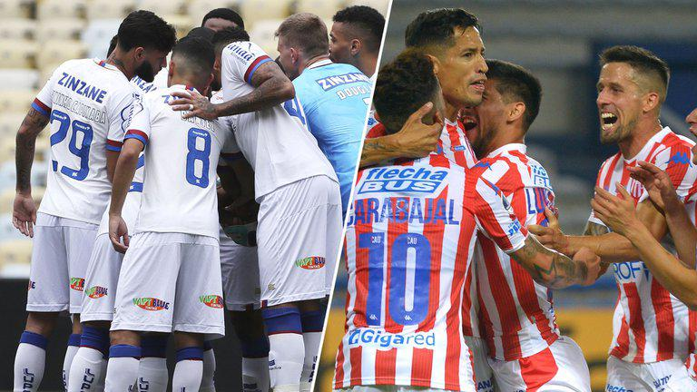 Bahia vs Union