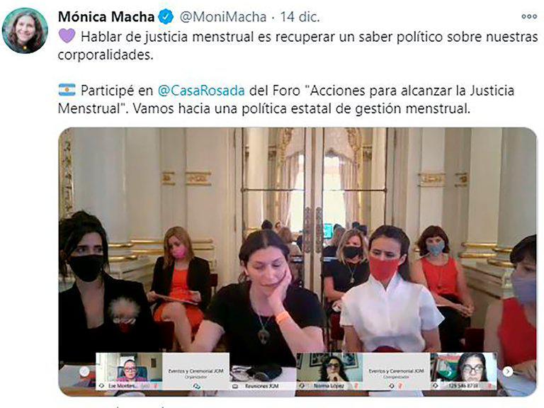 MONICA MACHA