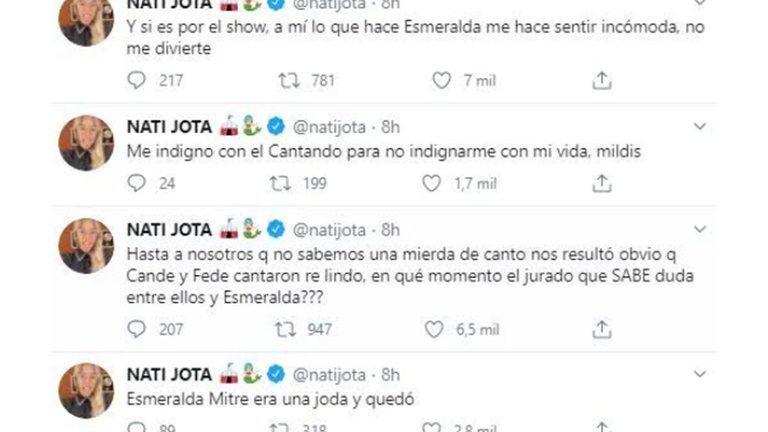 NATI JOTA TWITTER