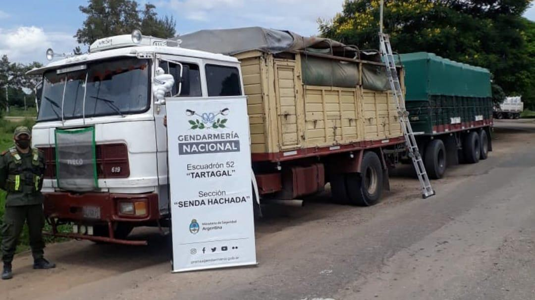Gendarmería decomisó 107 toneladas de soja ilegal y 30 toneladas de maíz (2)
