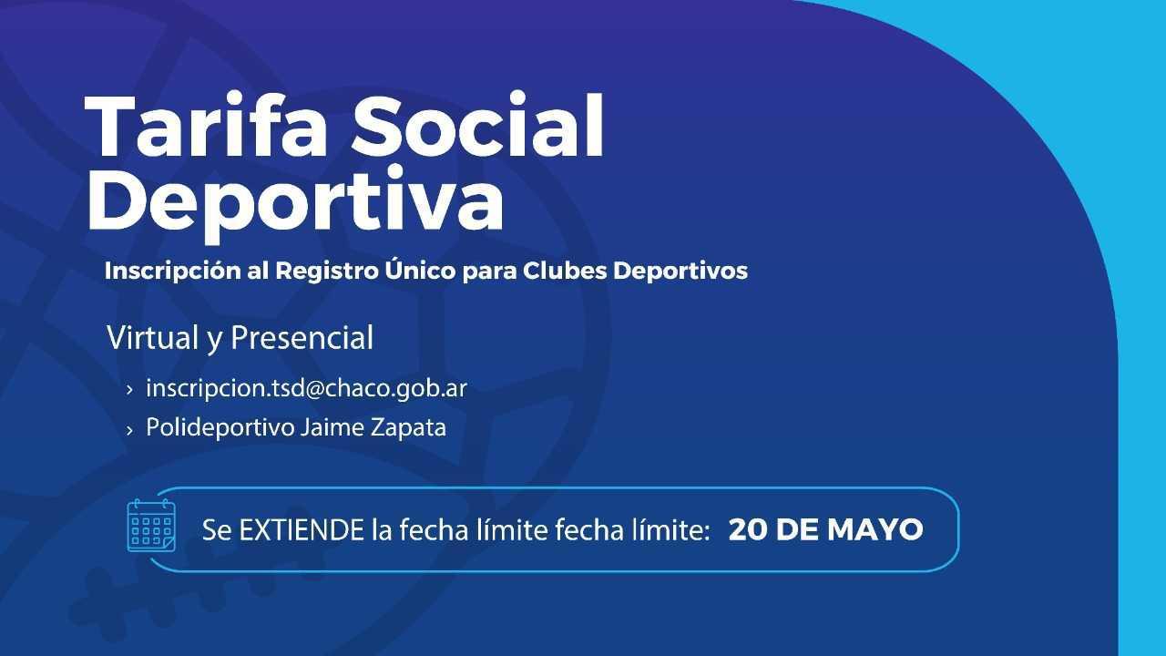 tarifa social clubes